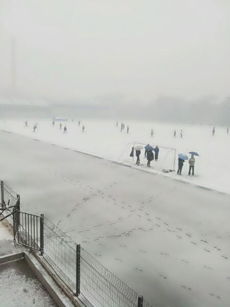 今年冬天的第一场雪